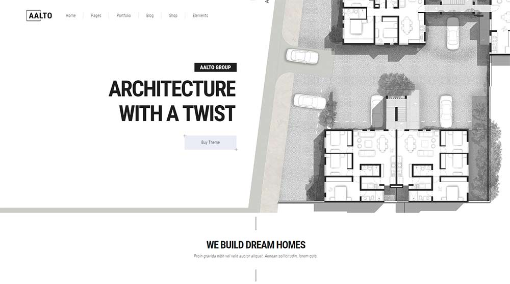 Aalto WordPress Theme