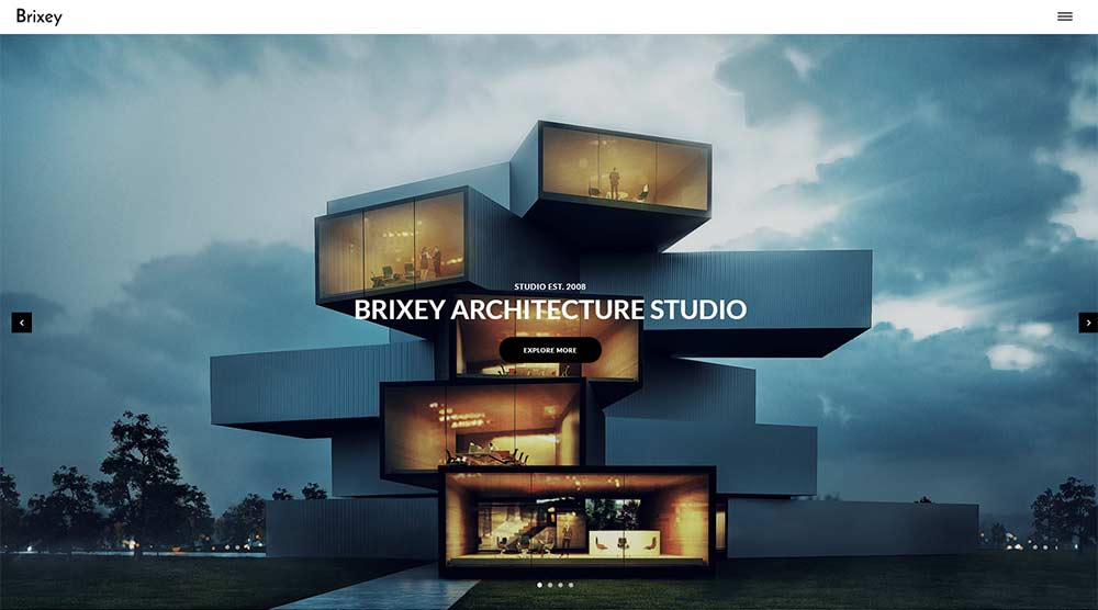 Brixey WordPress Theme