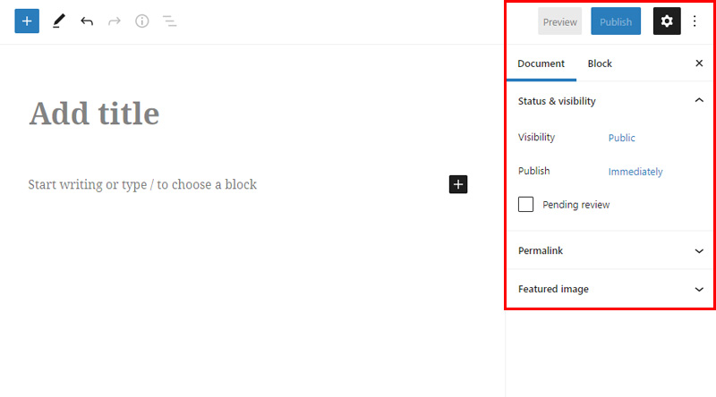 Custom Post Type UI Deffault Page options