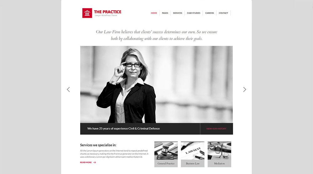 The Practice WordPress Theme