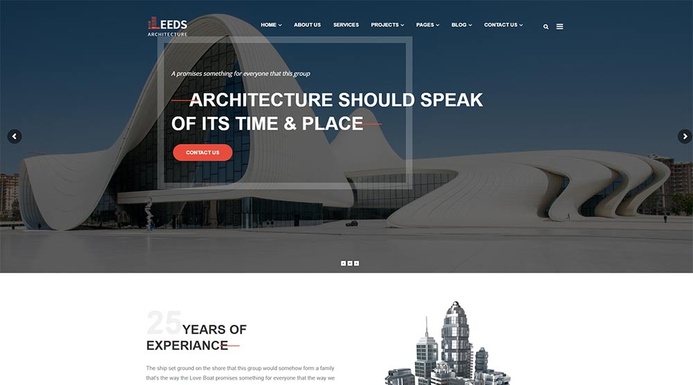 Leeds WordPress Theme