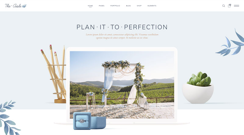 The Aisle WordPress Theme