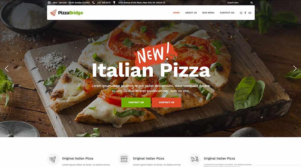 Bridge-pizza