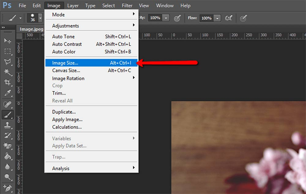 How to Change the Size of a Layer in Photoshop CS5 - Solve ...