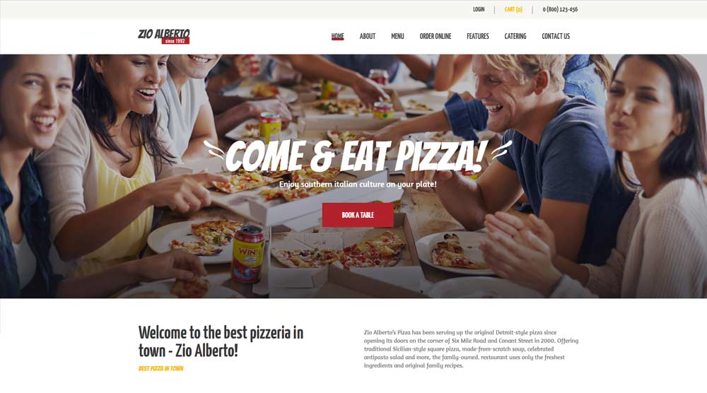 bistro-wordPress-theme