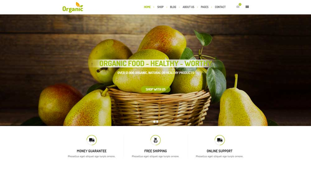 organic-woocommerce-wordpress