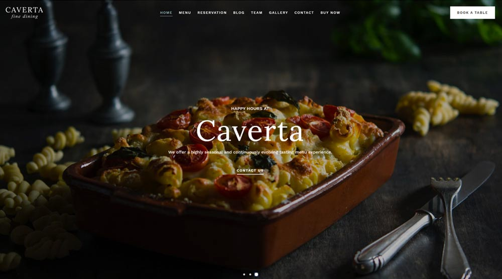 restaurants-wordpress-template