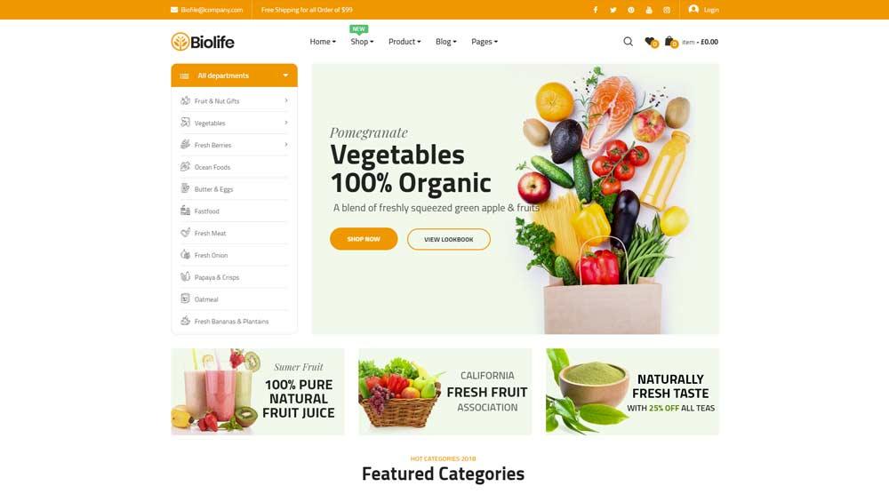 organic-food-theme