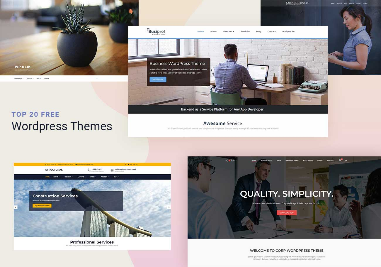 free-business-themes
