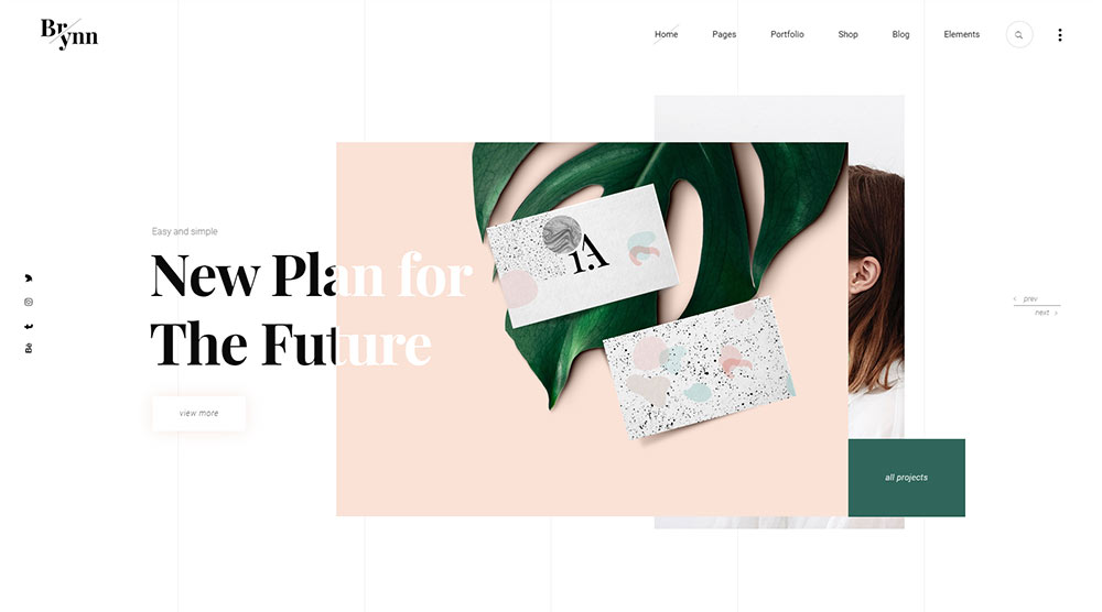 Brynn WordPress Theme