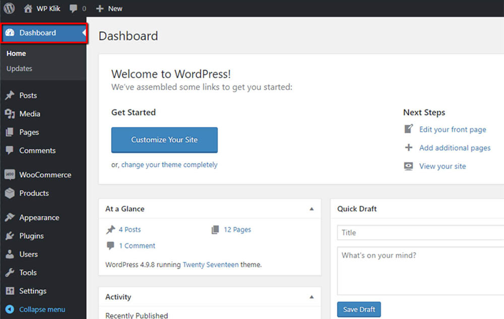 wordpress-admin-dashboard