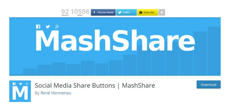 MashShare plugin
