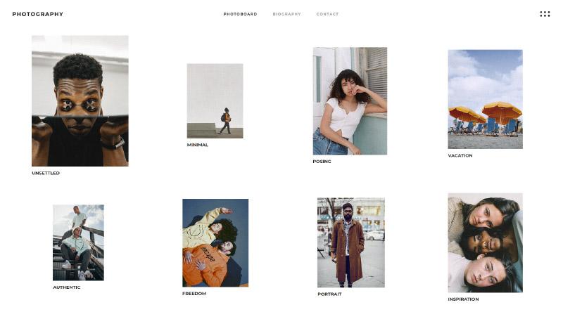 Qi Photography Portfolio WordPress Theme