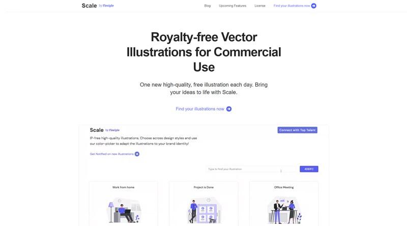 Scale vectors