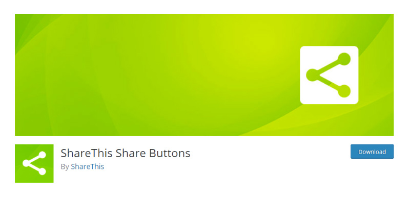 ShareThis Share Buttons