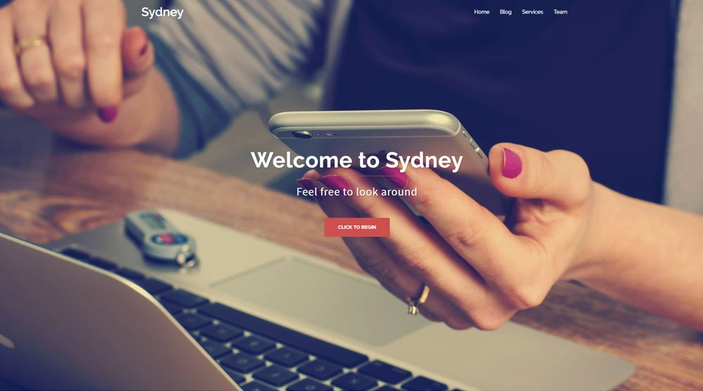 company-wordpress-template