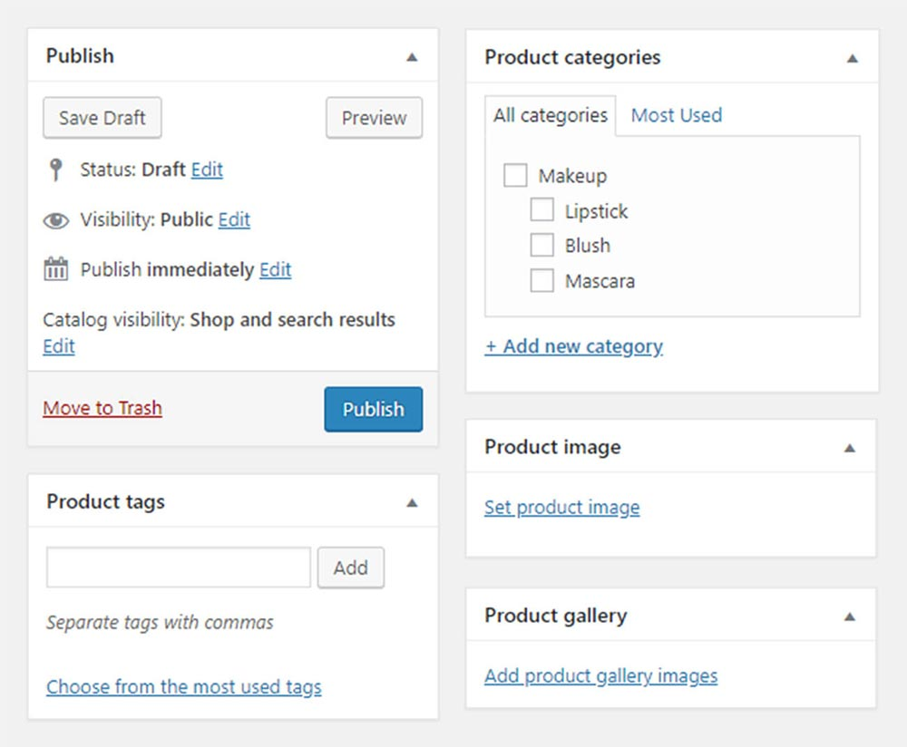 wordpress wooocommerce