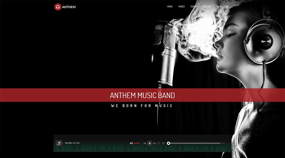 Anthem WordPress Themes