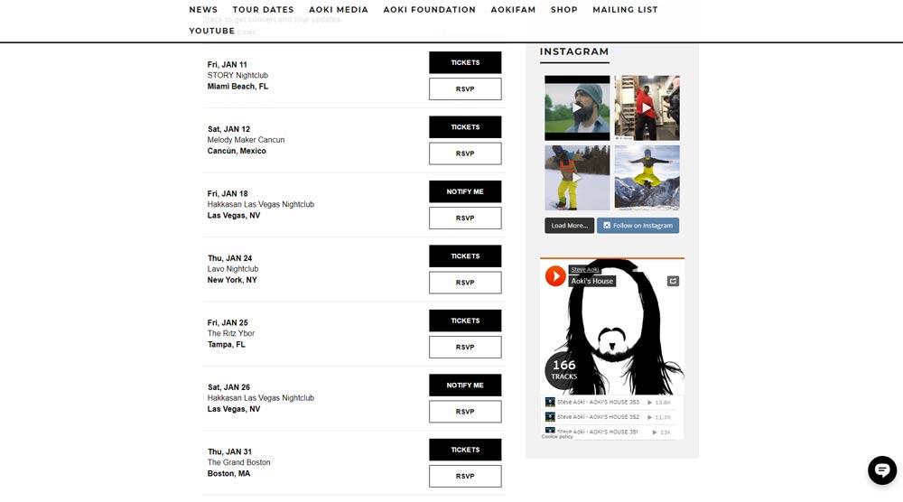 Aoki WordPress Website