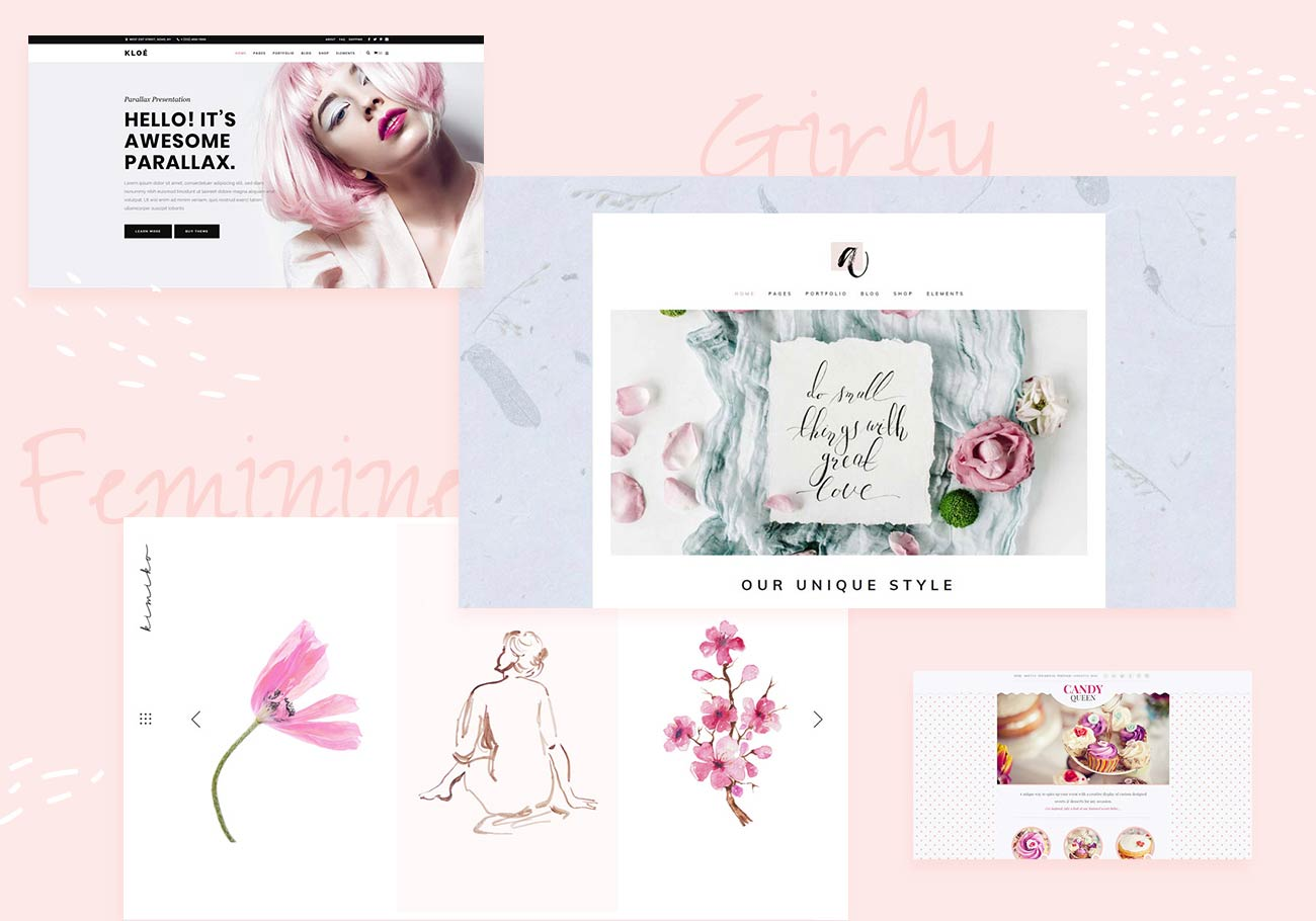 Best Feminine and Girly WordPress Themes