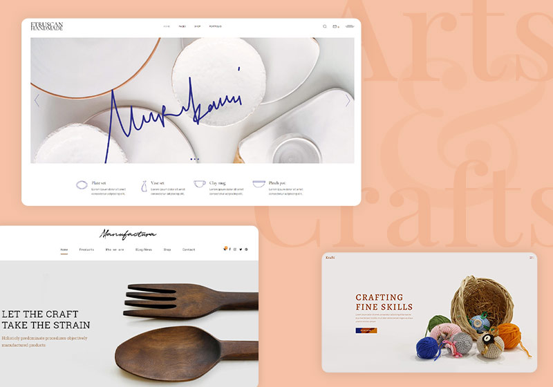 Best Arts and Crafts WordPress Themes for Your Site