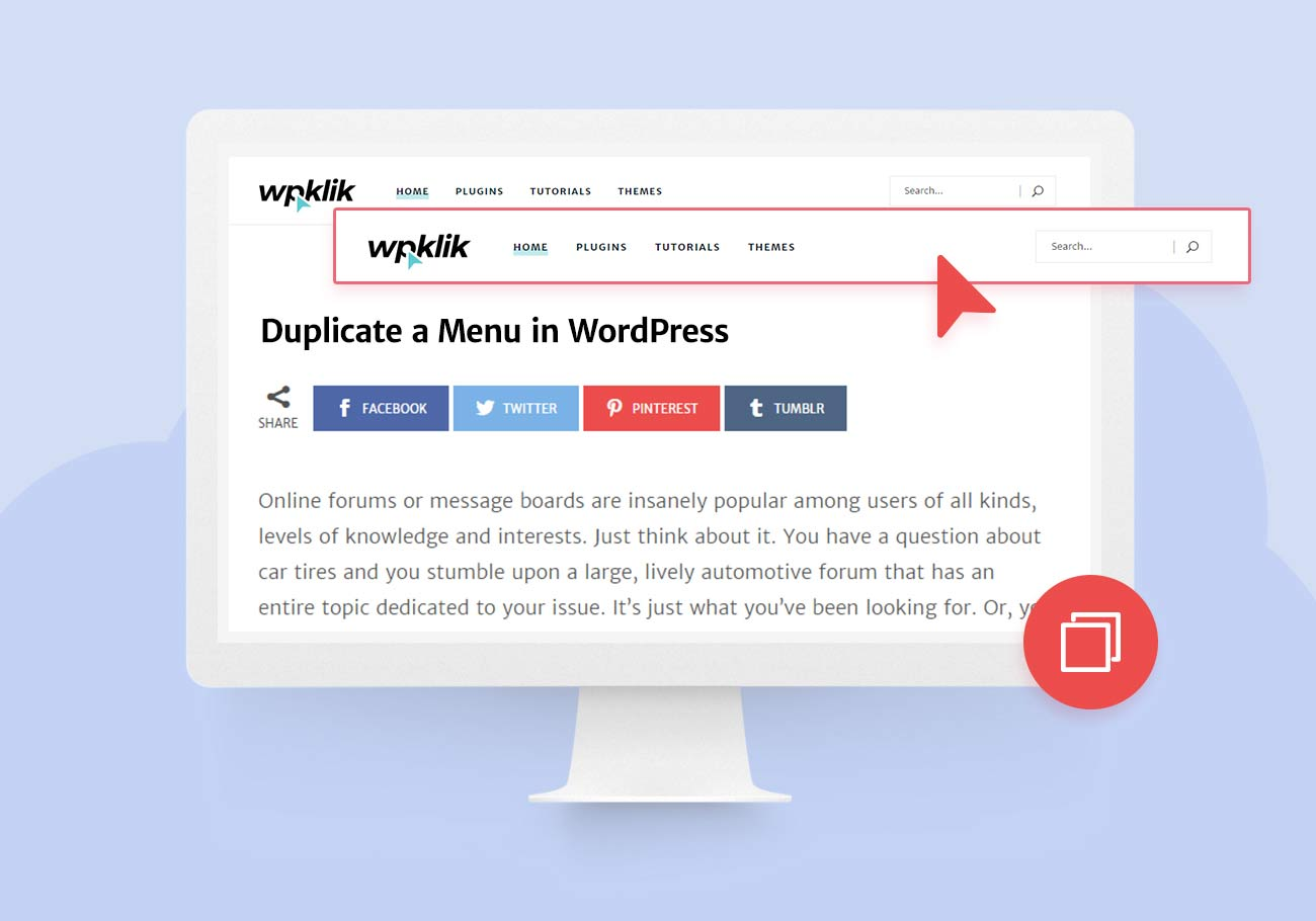 Duplicate a Menu in WordPress the Easy Way