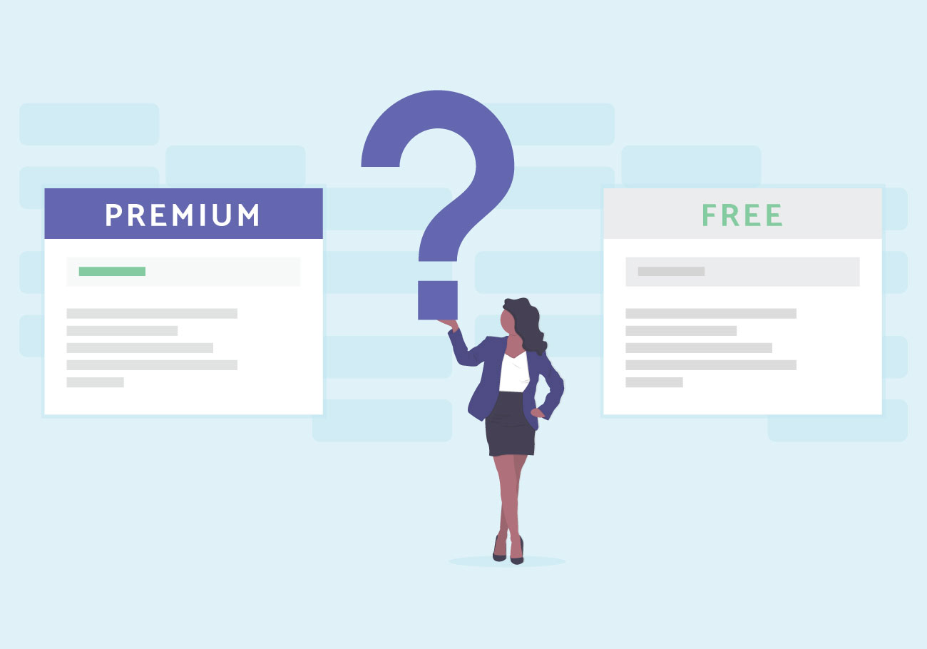 How to choose wordpress theme - free or premium