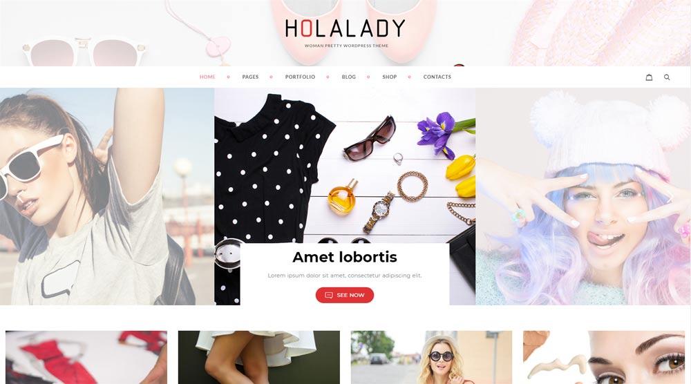 HolaLady Fashion Theme