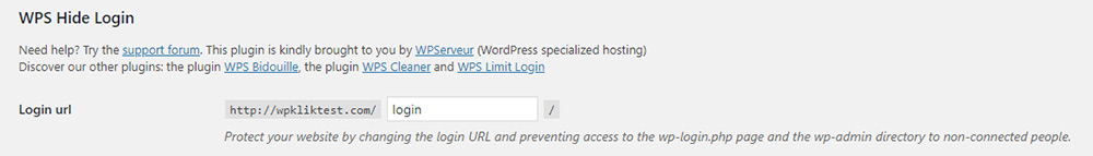 Login Plugin WordPress