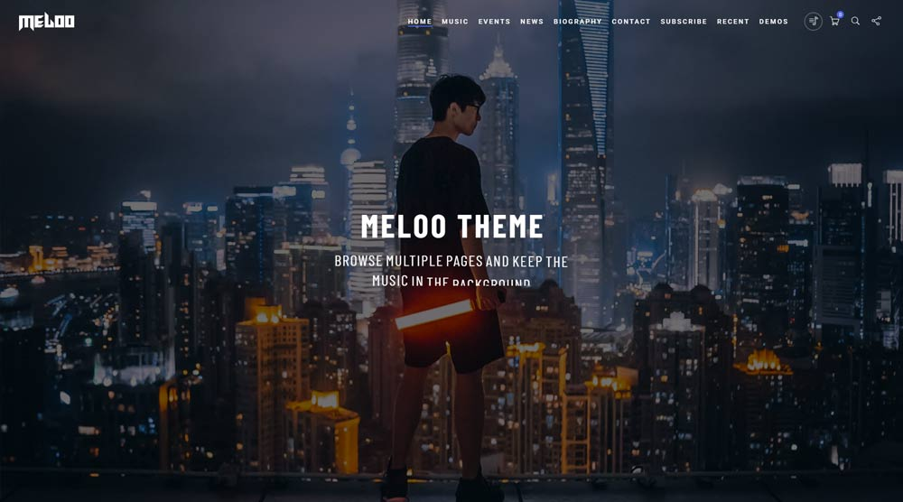 Meloo Website Theme