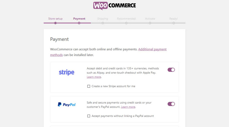 Payment WooCommerce