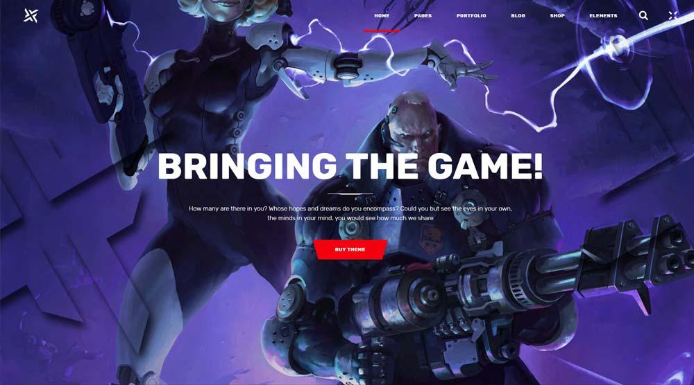 PlayerX theme