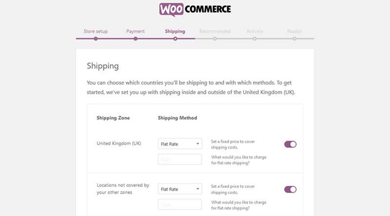 Shipping Options WooCommerce
