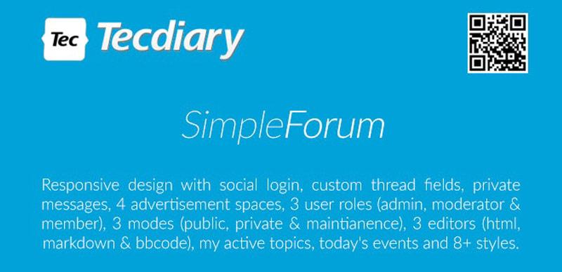 Simple Forum Plugin