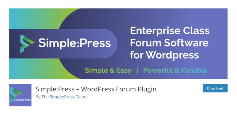 Simple Press Plugin