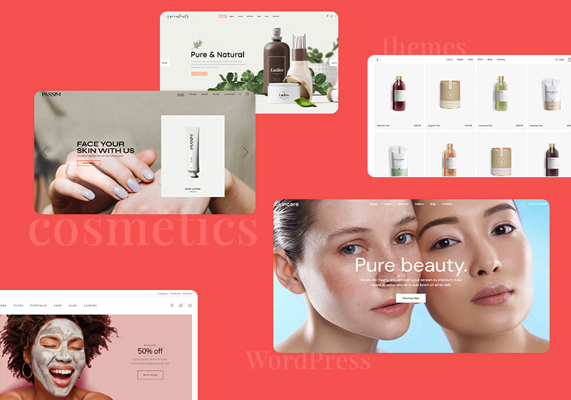 The Best Cosmetics WordPress Themes