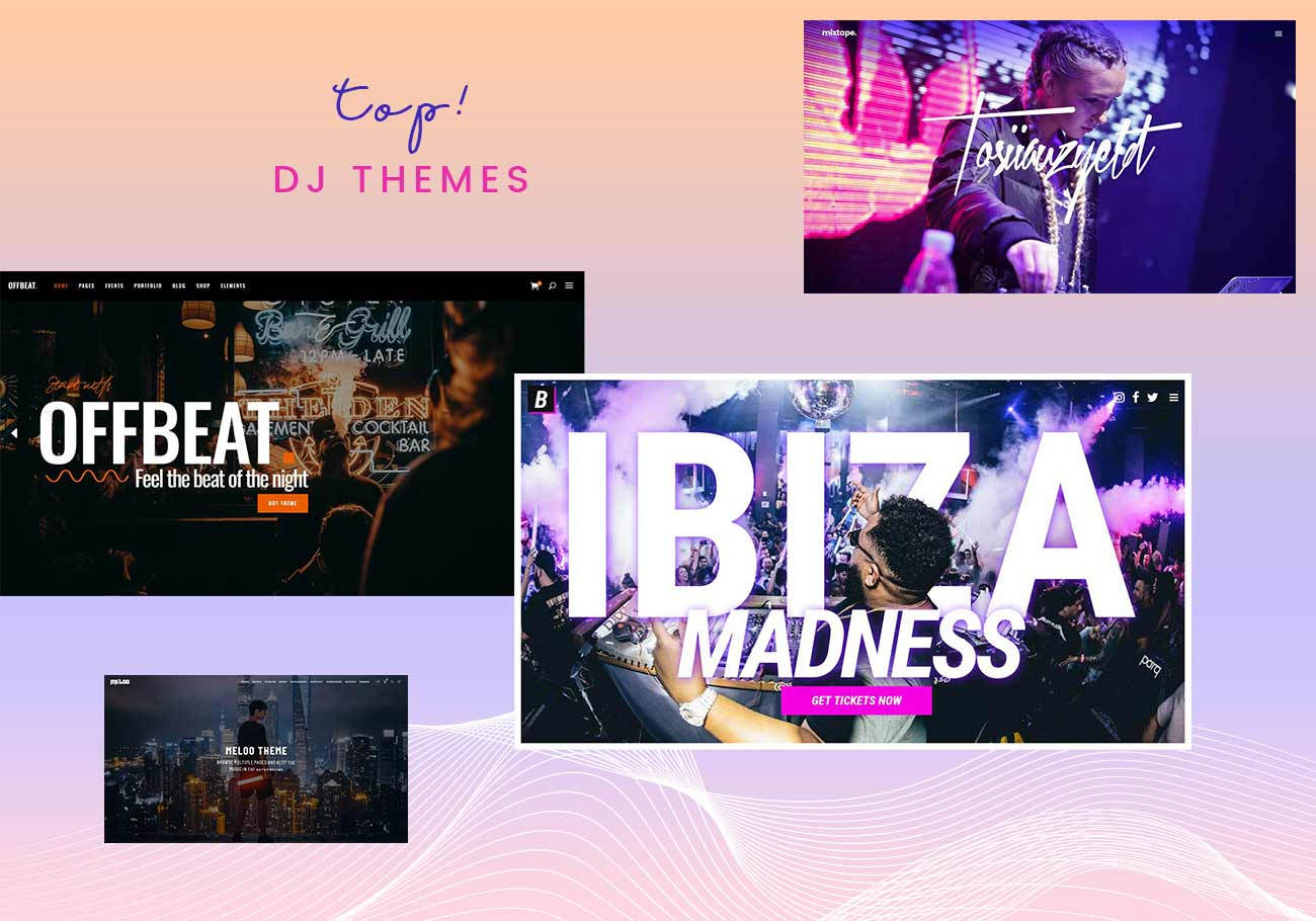 WordPress Themes for DJs and Nightlife