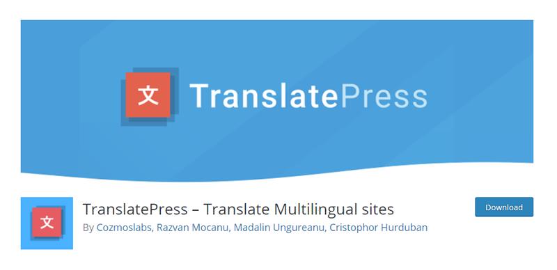 TranslatePress Translate Multilingual sites