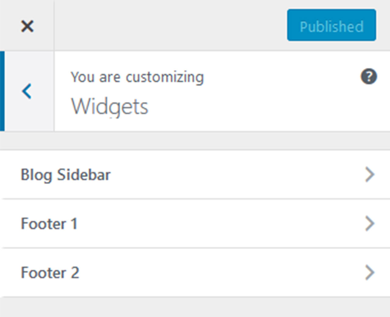 customizing widgets