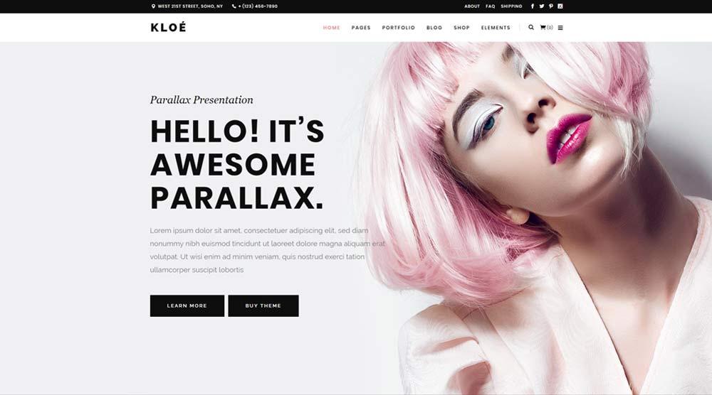 Kloe WordPress Theme