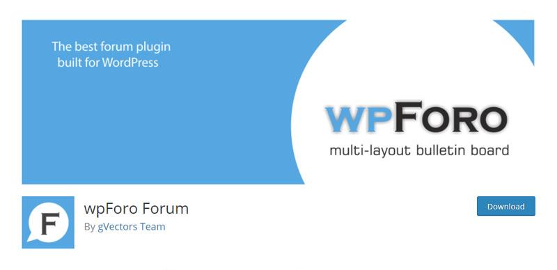 wpForo plugin