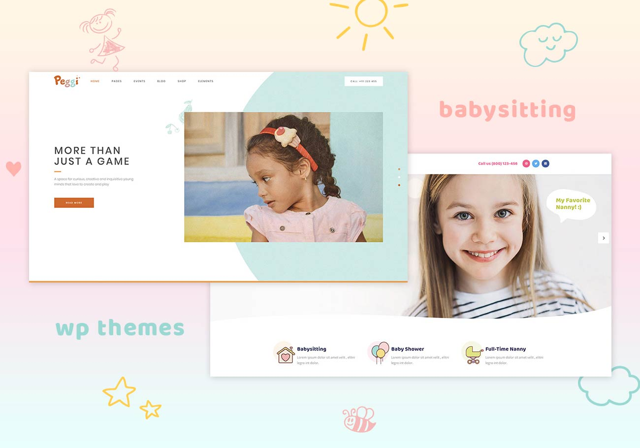 5 Best Babysitting WordPress Themes