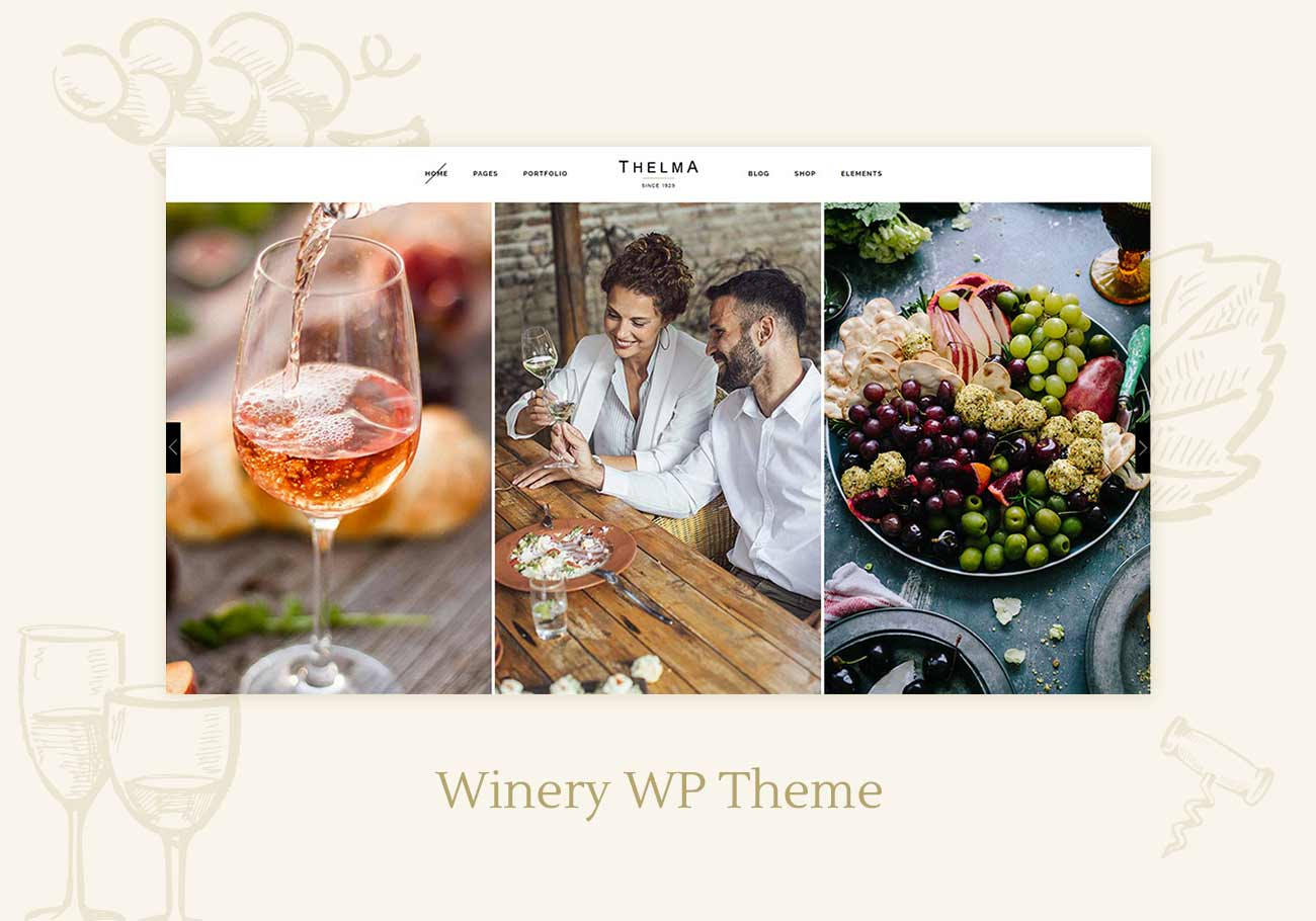 5 Best Winery WordPress Themes