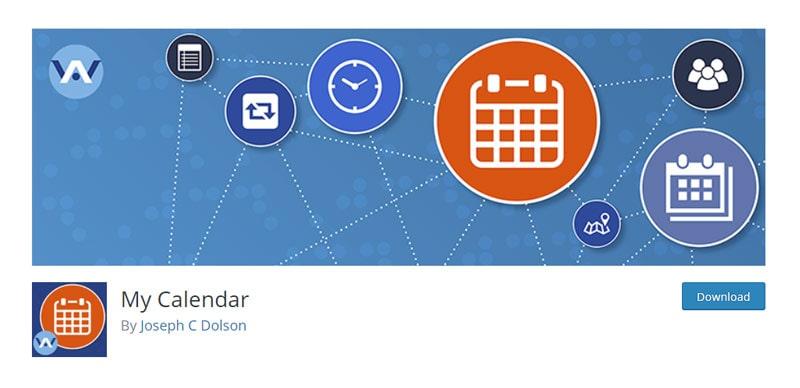 My Calendar Plugin img