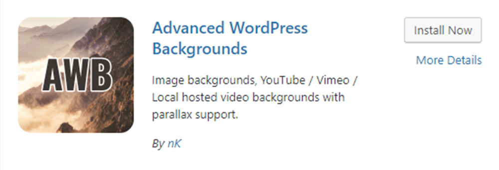 Advanced WordPress Backgrounds