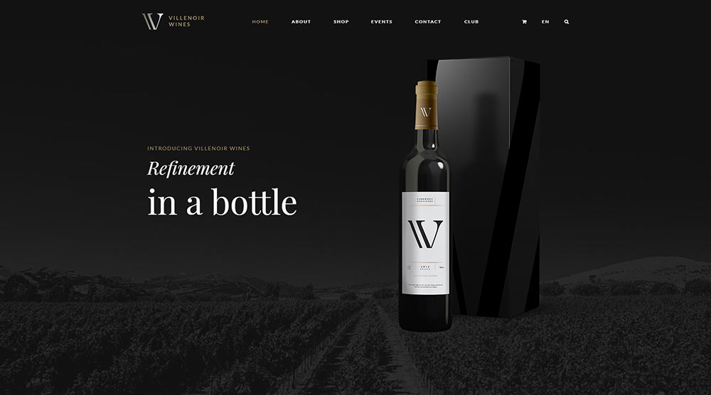 Villenoir wordpress theme