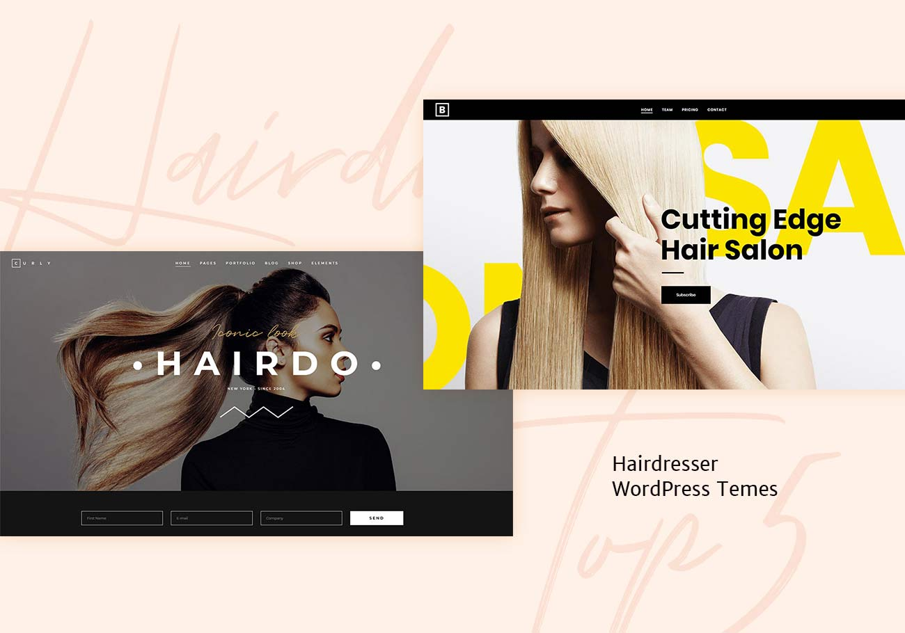 5 Best Hairdresser WordPress Themes