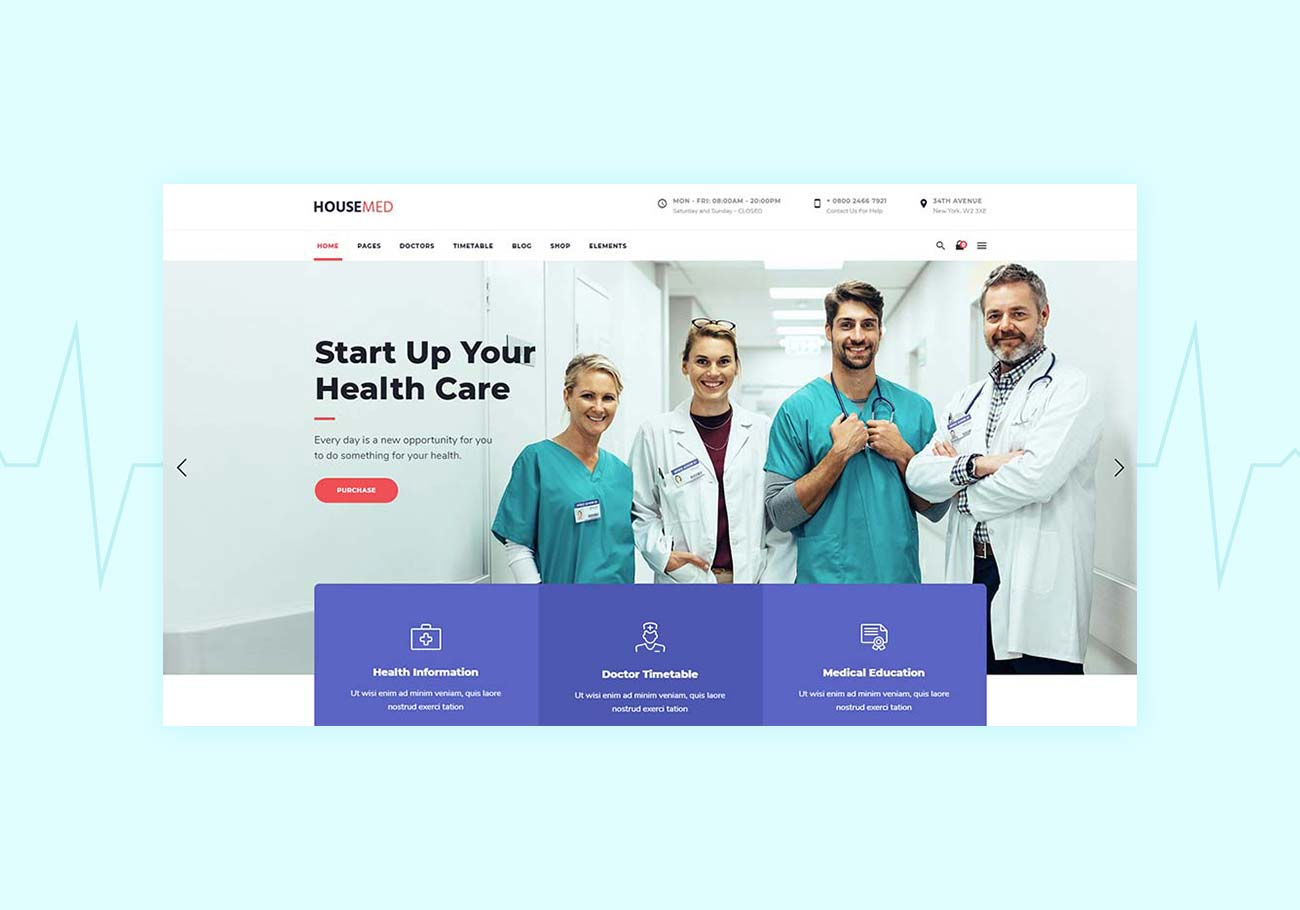 5 Best Medical WordPress Themes