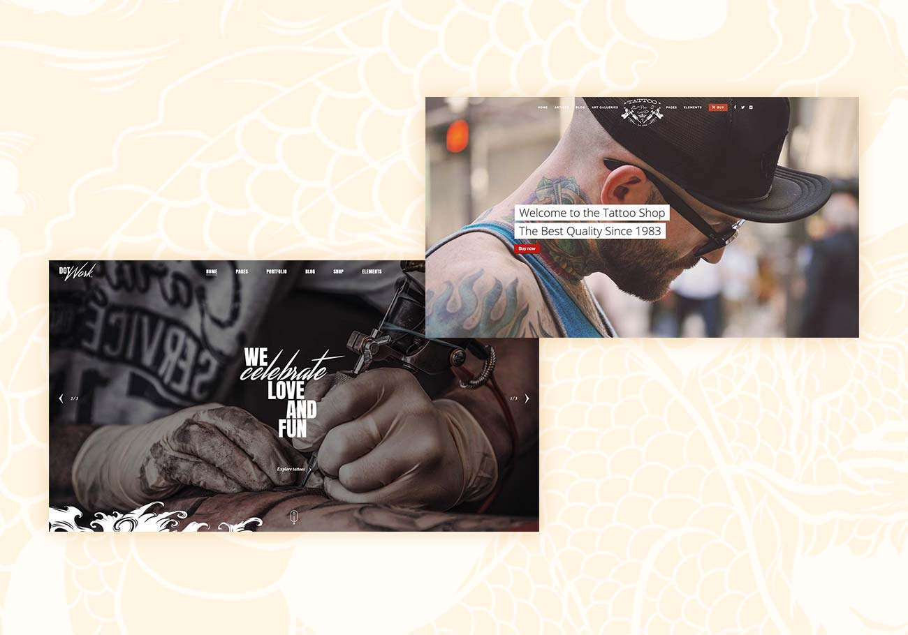 5 Best Tattoo Studio WordPress Themes