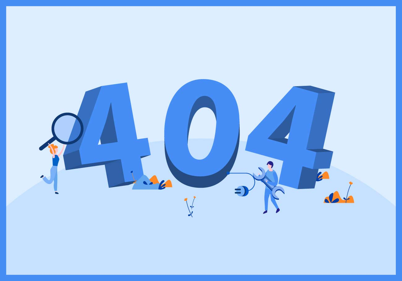 A 404 Page - Best Practices and Design Inspiration